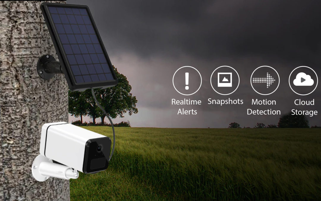 SP18 Wire-Free 4G Solar Panel Camera Security System